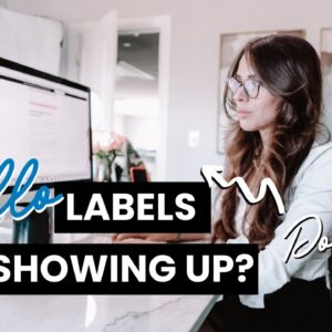 How to Get TRELLO Labels to Show Up On Your Board | TRELLO TUTORIAL 2021 //  2-Minute TeaTorial