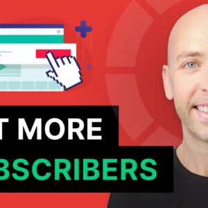 How to Get More YouTube Subscribers (FAST)