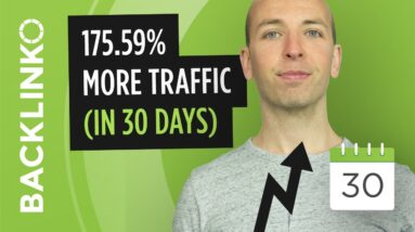 This SEO Strategy = 175.59% More Google Traffic (NOT CLICKBAIT)